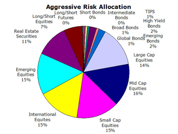 Agressive Portfolio Risk Allocation